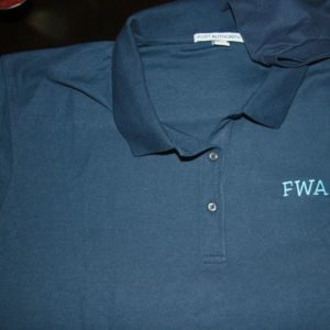 FWA Embroidered Polo Shirt