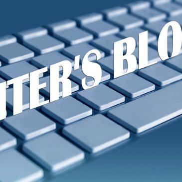 The Writing Life: Writer's Block